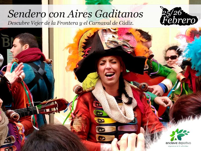 Sendero con Aires Gaditanos|25 y 26 Febrero.