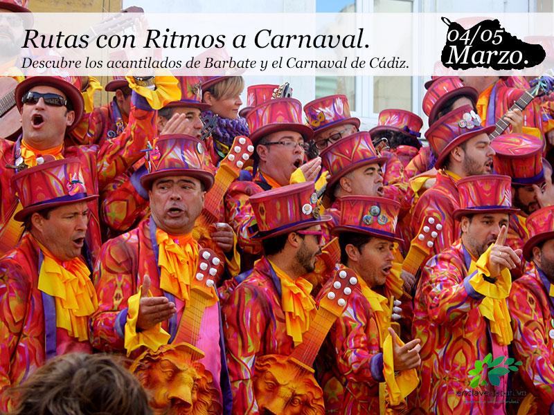 Rutas con Ritmos a Carnaval|4 y 5 marzo.