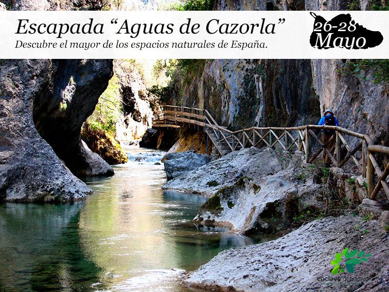 Escapada a Cazorla| 26, 27 y 28 de mayo