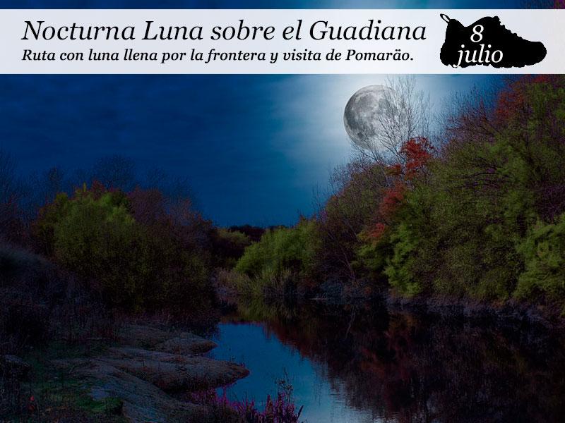 Nocturna Luna sobre el Guadiana | 8 de julio