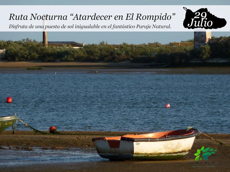 """Ruta Nocturna """"Atardecer en El Rompido"""""""