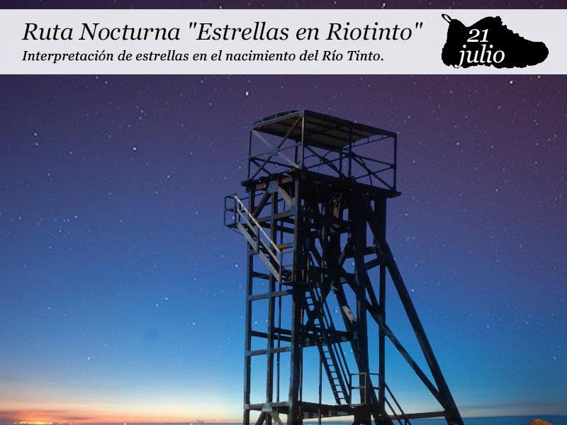 """Ruta Nocturna """"Estrellas en Riotinto"""""""