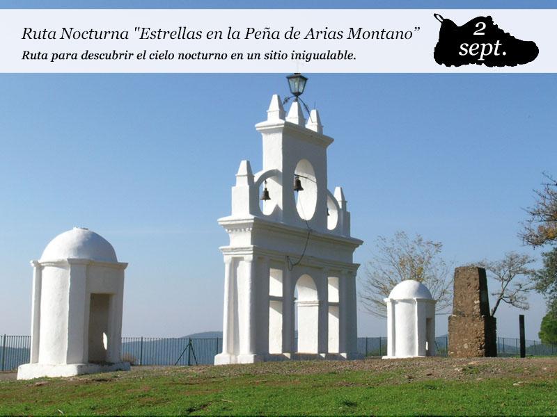 Estrellas en la Peña de Arias Montano | Sábado 2 de Septiembre