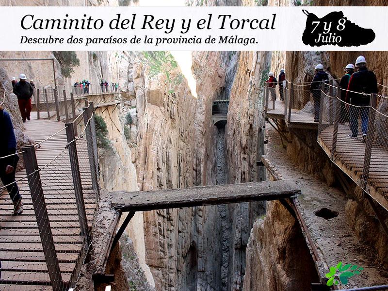 Caminito del Rey y Torcal de Antequera | 7 y 8 de julio