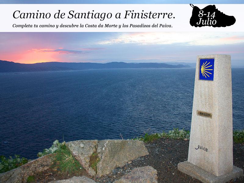 Camino de Santiago – Finisterre| del 8 al 14 de julio