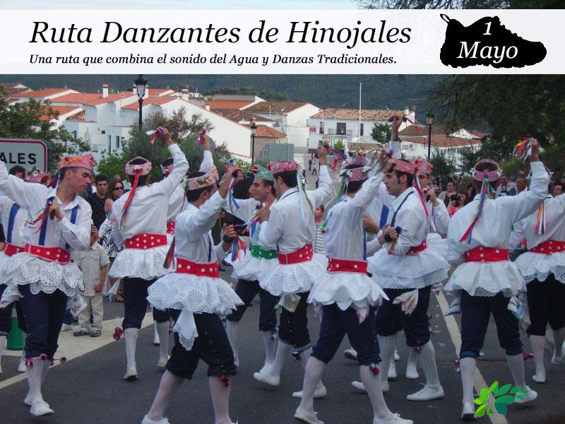 Danzantes de Hinojales | 1 de mayo