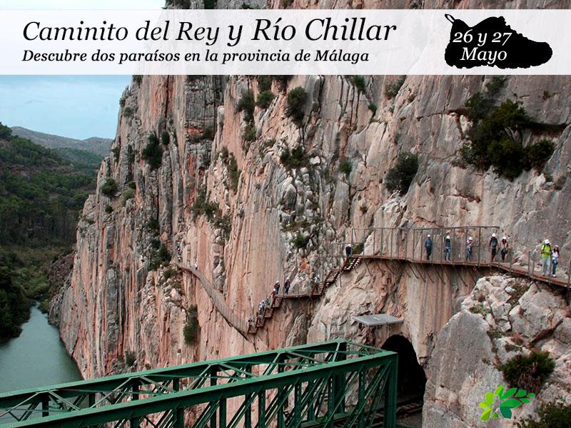Caminito del Rey y Río Chillar | 26 y 27 de Mayo