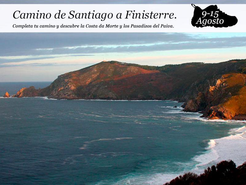 Camino de Santiago – Finisterre| del 9 al 15 de agosto
