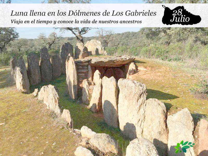 Luna Llena en Los Dólmenes de Los Gabrieles | 28 de julio