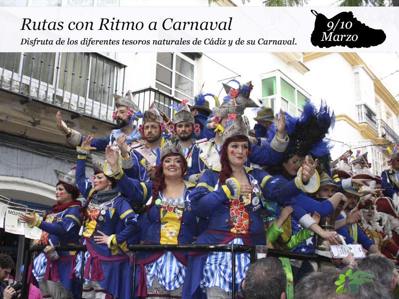 Rutas con Ritmos a Carnaval|9 y 10 de marzo.