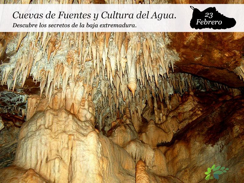Cuevas de Fuentes y Cultura del Agua en Cañaveral de León | 23 de Febrero