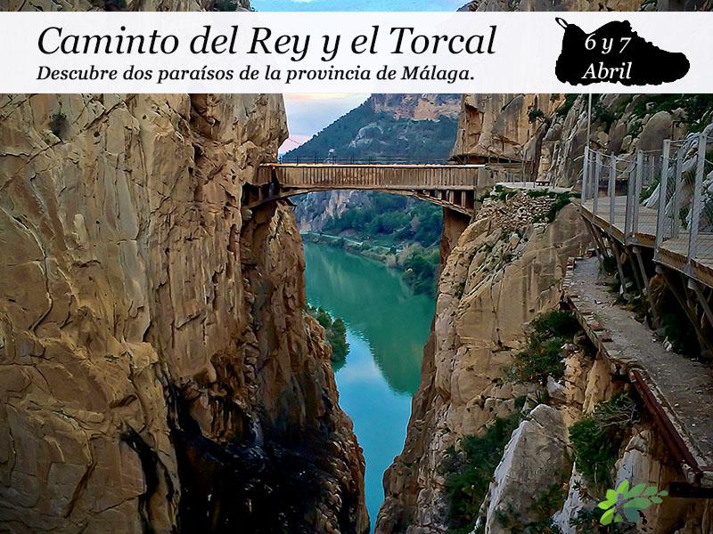 Caminito del Rey y Torcal de Antequera | 6 y 7 de Abril