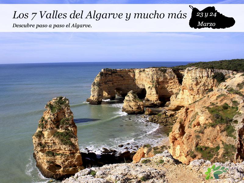 Escapada a Los 7 Valles del Algarve y mucho más| 23 y 24 de Marzo