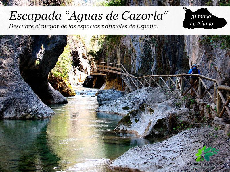 Escapada a Cazorla| 31 mayo, 1 y 2 de junio